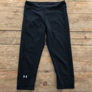Black under armor athletic pants